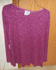 Buy Planet Motherhood Maternity Top - Shades of purple (No tag - see measurements)