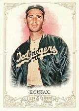 Buy 2012 Allen & Ginter #99 - Sandy Koufax - Dodgers