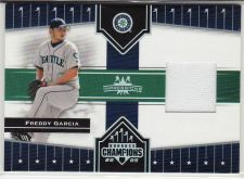 Buy 2005 Donruss Champions Impressions Material #112 - Freddy Garcia - Mariners