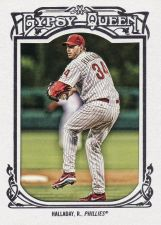 Buy 2013 Gypsy Queen Framed White #129 - Roy Halladay - Phillies
