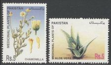 Buy Pakistan 2006 Chamimolla and Aloe Vera Medicinal Plants Series (2v) MNH (US-01)
