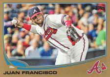 Buy 2013 Topps Gold #357 - Juan Francisco - Braves