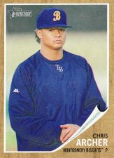 Buy 2011 Topps Heritage Minors #3 - Chris Archer