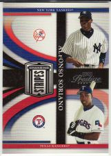 Buy 2005 Playoff Prestige Changing Stripes #C-15 - Alfonso Soriano - Yankees - Rangers