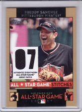 Buy 2007 Topps Update All-Star Stitches #AS-FS - Freddy Sanchez - Pirates