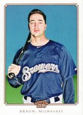 Buy 2010 Topps 206 #153 - Ryan Braun - Brewers