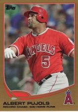Buy 2013 Topps Gold #266 - Albert Pujols - Angels