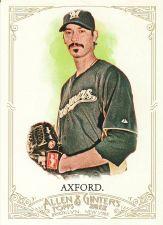 Buy 2012 Allen & Ginter #187 - John Axford - Brewers
