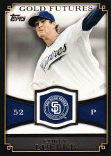 Buy 2012 Topps Gold Futures #GF-50 - Corey Luebke - Padres