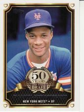 Buy 2014 Topps 50 Years Of The Draft #9 - Darryl Strawberry - Mets