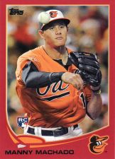 Buy 2013 Topps Target Red #270 - Manny Machado - Orioles