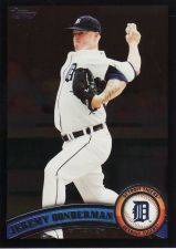 Buy 2011 Topps Wal-Mart Black #182 - Jeremy Bonderman