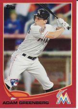 Buy 2013 Topps Target Red #253 - Adam Greenberg - Marlins
