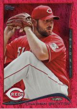Buy 2014 Topps Red Foil #140 - Jonathan Broxton - Reds