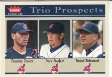 Buy 2004 Fleer Tradition #479 - Cruceta - Stanford - Rafael Betancourt - Indians