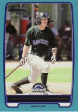 Buy 2012 Bowman Prospects Blue #BP12 - Rafael Ortega - Rockies
