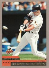 Buy 2000 Topps #103 - Brady Anderson - Orioles