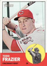 Buy 2012 Topps Heritage #133 - Todd Frazier - Reds