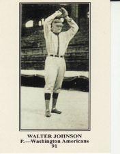 Buy 2011 Topps CMG Reprints #CMGR-19 - Walter Johnson - Senators