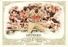Buy 2012 Allen & Ginter #317 - Jason Heyward - Braves
