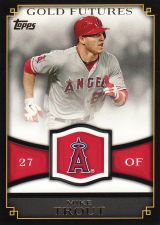 Buy 2012 Topps Gold Futures #GF-16 - Mike Trout - Angels