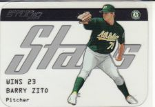 Buy 2003 Studio Stars #SS-15 - Barry Zito - Athletics