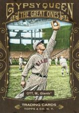 Buy 2011 Gypsy Queen Great Ones #GO14 - Mel Ott - Giants