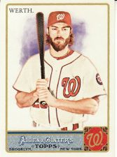Buy 2011 Allen & Ginter #315 - Jayson Werth - Nationals