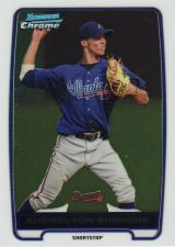 Buy 2012 Bowman Chrome Prospects #BCP109 - Andrelton Simmons - Braves