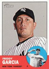 Buy 2012 Topps Heritage #401 - Freddy Garcia - Yankees