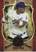 Buy 2015 Topps First Home Run #FHR-14 - Yasiel Puig - Dodgers