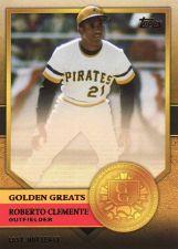 Buy 2012 Topps Golden Greats #GG-38 - Roberto Clemente - Pirates