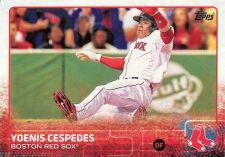 Buy 2015 Topps #120 - Yoenis Cespedes - Red Sox