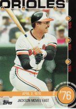 Buy 2015 Topps Baseball History #9B - Reggie Jackson - Orioles