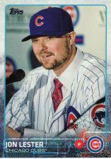 Buy 2015 Topps #406 - Jon Lester - Cubs