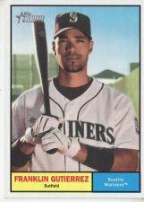 Buy 2010 Topps Heritage #389 Franklin Gutierrez