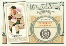 Buy 2012 Allen & Ginter What's In A Name #WIN66 - Sparky Anderson - Tigers