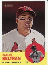 Buy 2012 Topps Heritage #300 - Carlos Beltran - Cardinals