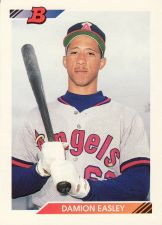 Buy 1992 Bowman #672 - Damion Easley - Angels