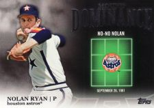 Buy 2012 Topps Mound Dominance #MD-8 - Nolan Ryan - Astros