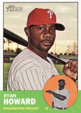 Buy 2012 Topps Heritage #161 - Ryan Howard - Phillies