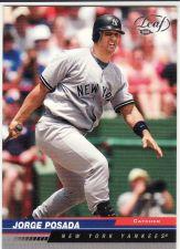 Buy 2005 Leaf #139 - Jorge Posada - Yankees