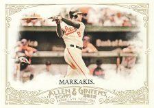 Buy 2012 Allen & Ginter #14 - Nick Markakis - Orioles