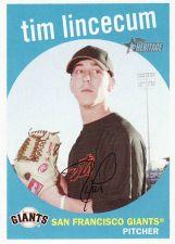 Buy 2008 Topps Heritage #303 - Tim Lincecum - Giants