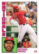 Buy 2012 Topps Archives #169 - Michael Morse - Nationals