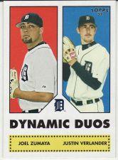 Buy 2006 Topps 52 Dynamic Dous #DD3 - Joel Zumaya - Justin Verlander - Tigers