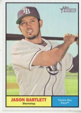 Buy 2010 Topps Heritage #399 Jason Bartlett