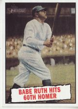 Buy 2010 Topps Heritage #401 Babe Ruth