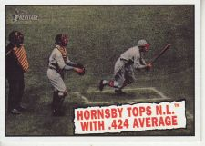 Buy 2010 Topps Heritage #404 Rogers Hornsby