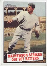 Buy 2010 Topps Heritage #408 Christy Mathewson